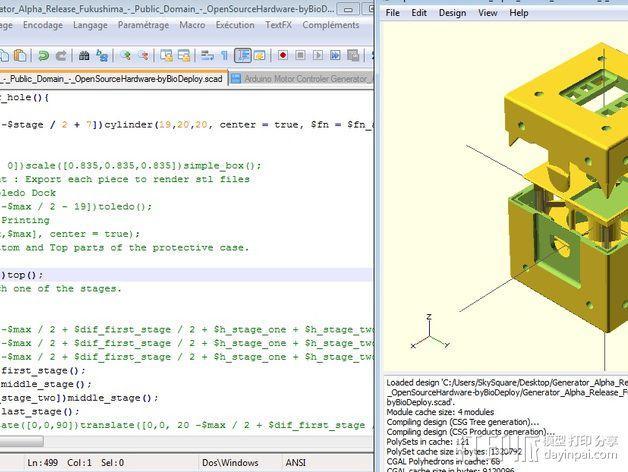 Fukushima发电机 3D模型  图12