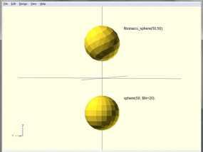 斐波那契球体 3D模型