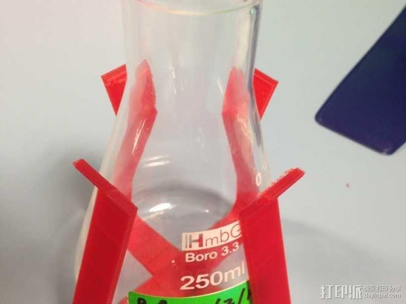 烧瓶架 3D模型  图1