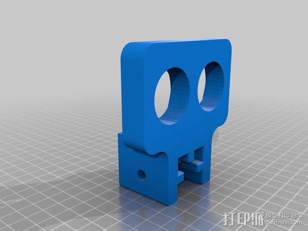 肌肉纤维分离机 3D模型  图2