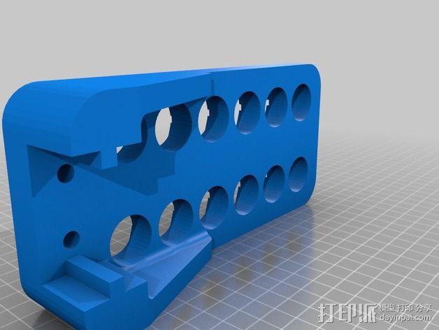 肌肉纤维分离机 3D模型  图3