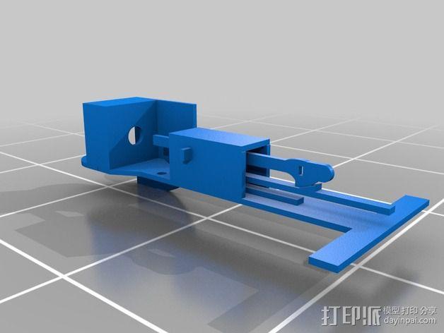 乒乓球发球器 3D模型  图5