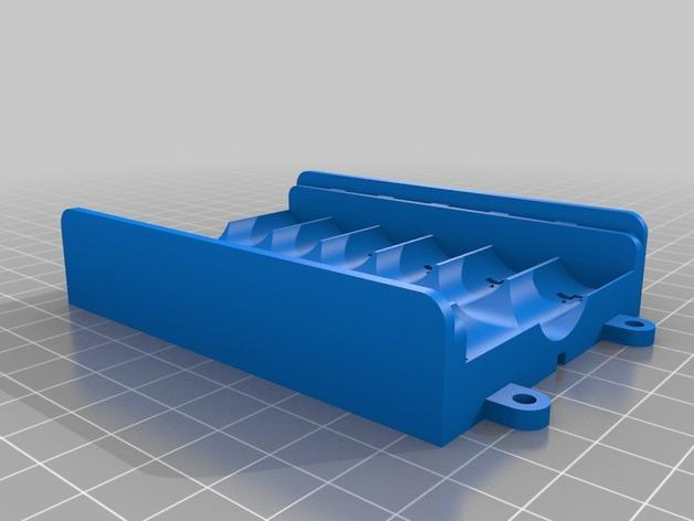 AA电池 电池箱 3D模型  图3