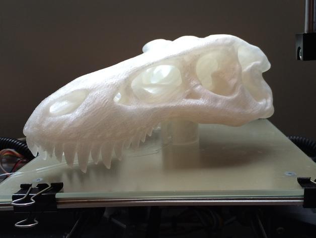 恐龙头自行车座垫 3D模型  图7
