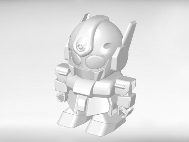 机器人 3D模型  图3