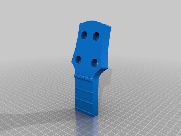 乌克丽丽四弦琴 3D模型  图8