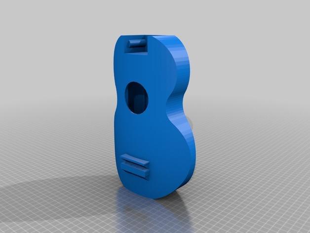 乌克丽丽四弦琴 3D模型  图10