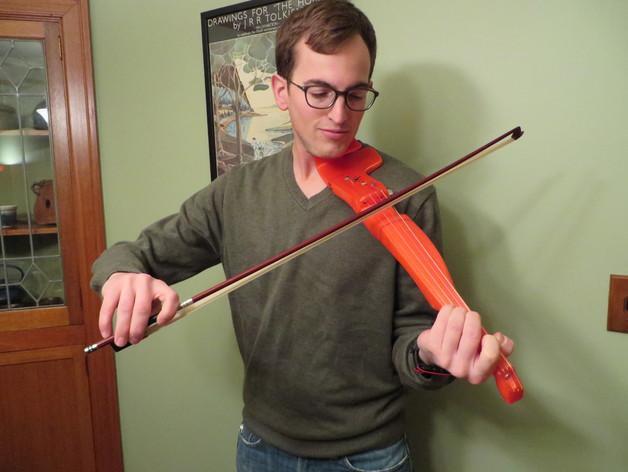 小提琴 3D模型  图1
