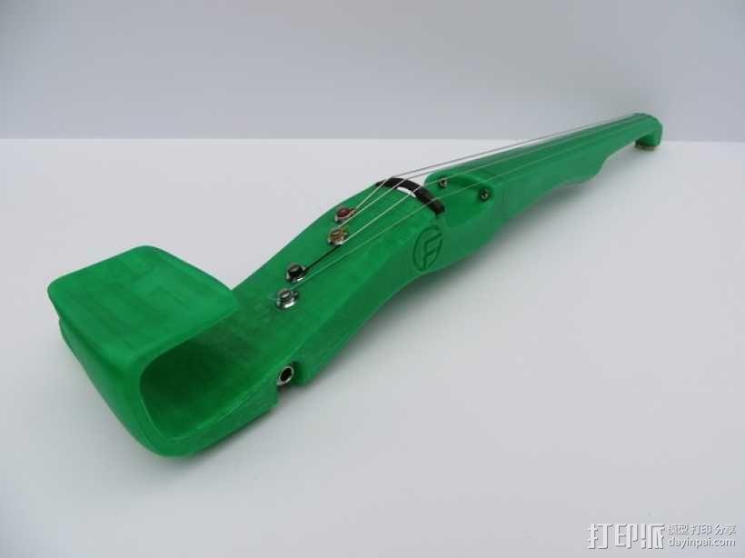 小提琴 3D模型  图7