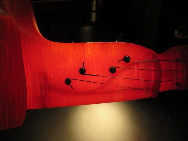 小提琴 3D模型  图11