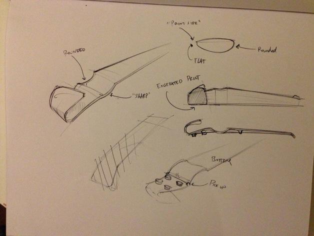 小提琴 3D模型  图19