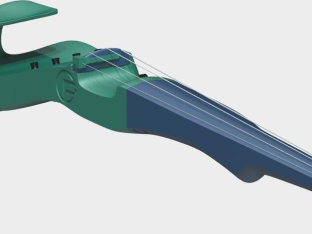 小提琴 3D模型  图22