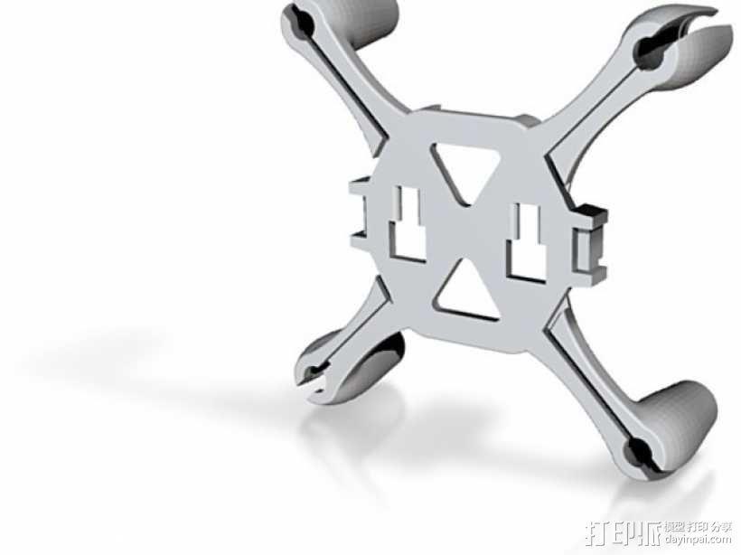 Flexbot飞行器 3D模型  图2