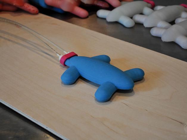 海蛞蝓 3D模型  图2
