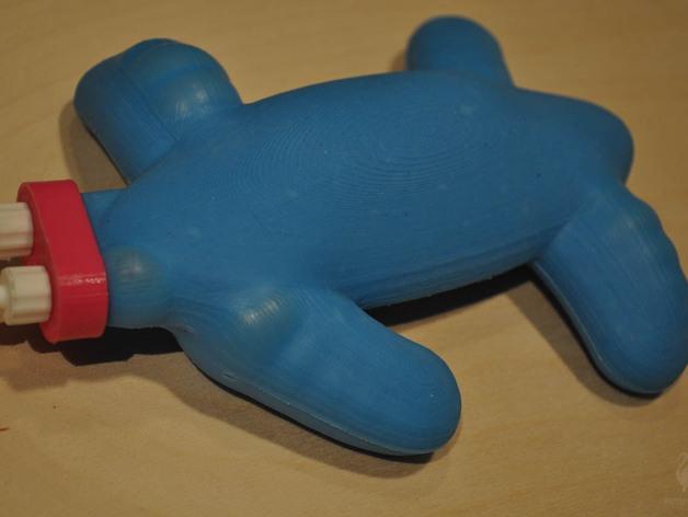 海蛞蝓 3D模型  图3