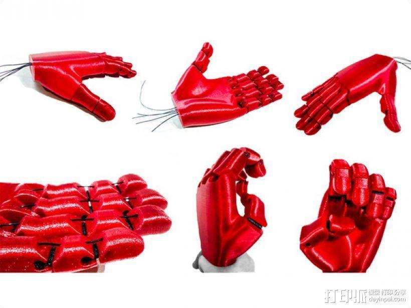 手 3D模型  图1