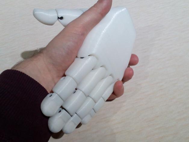 手 3D模型  图3