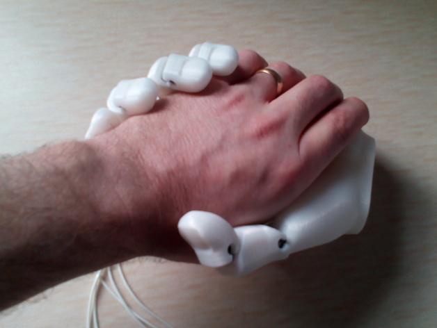 手 3D模型  图4