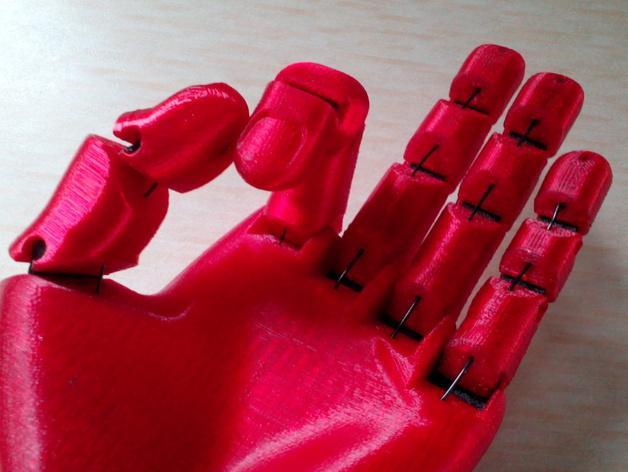 手 3D模型  图11