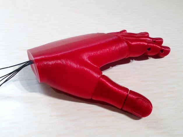 手 3D模型  图14