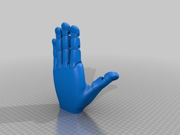手 3D模型  图27