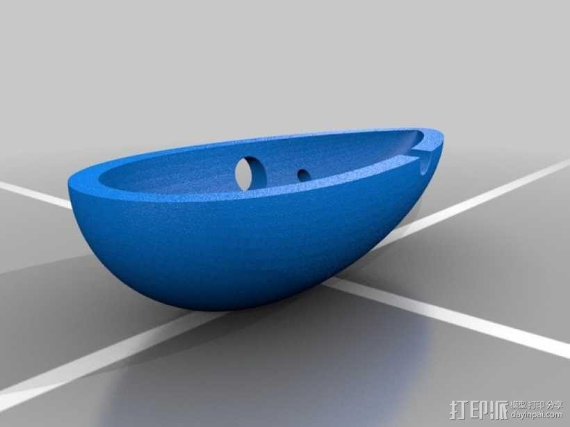 陶笛 3D模型  图2