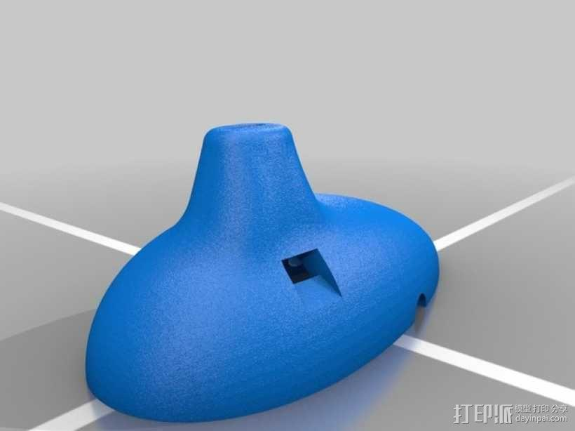 陶笛 3D模型  图3