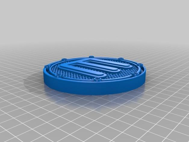 滑雪踏板 3D模型  图3