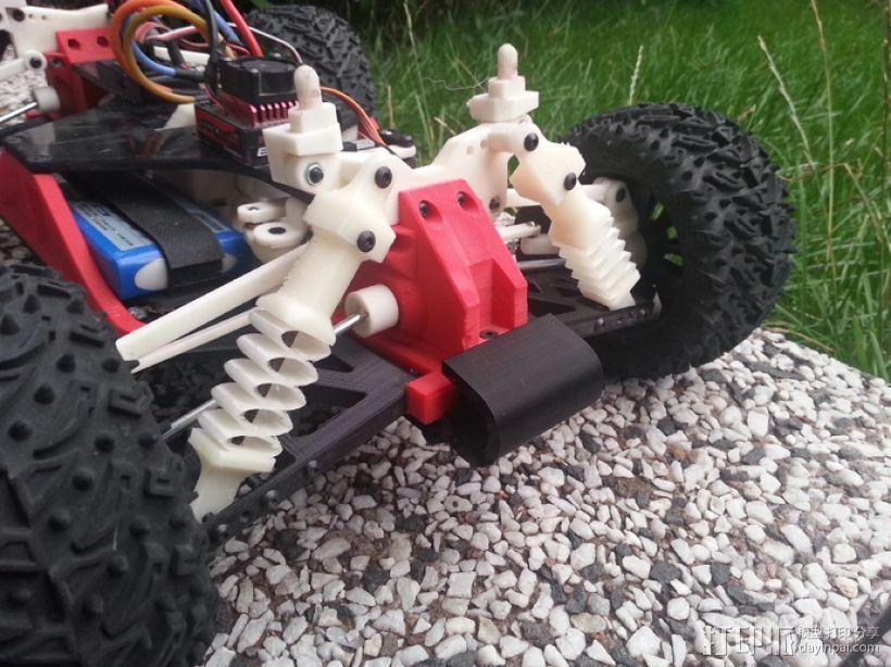 汽车减震装置 3D模型  图1