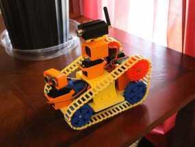 EZ机器人 3D模型