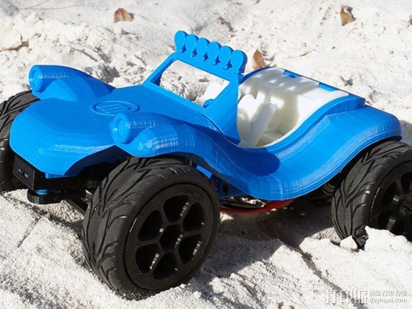 沙漠越野车 3D模型  图1