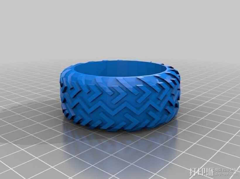 沙漠越野车 3D模型  图2