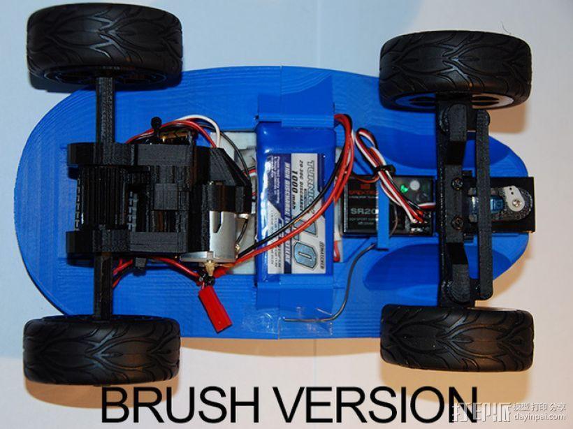 沙漠越野车 3D模型  图5