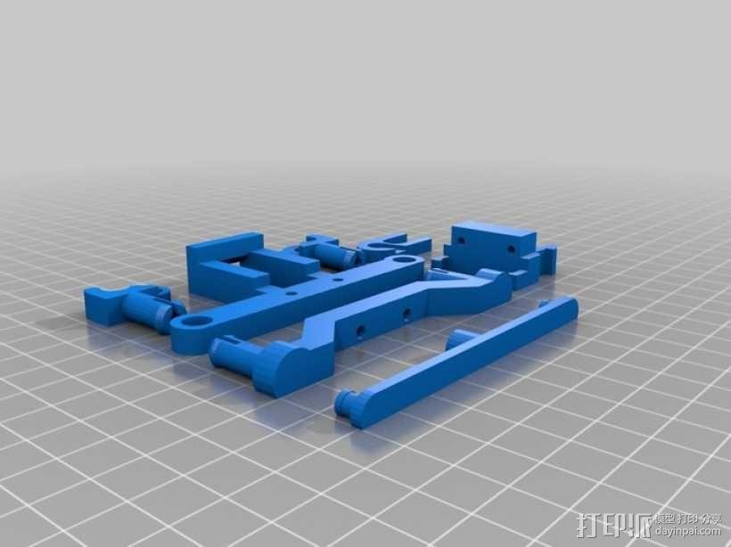 沙漠越野车 3D模型  图7