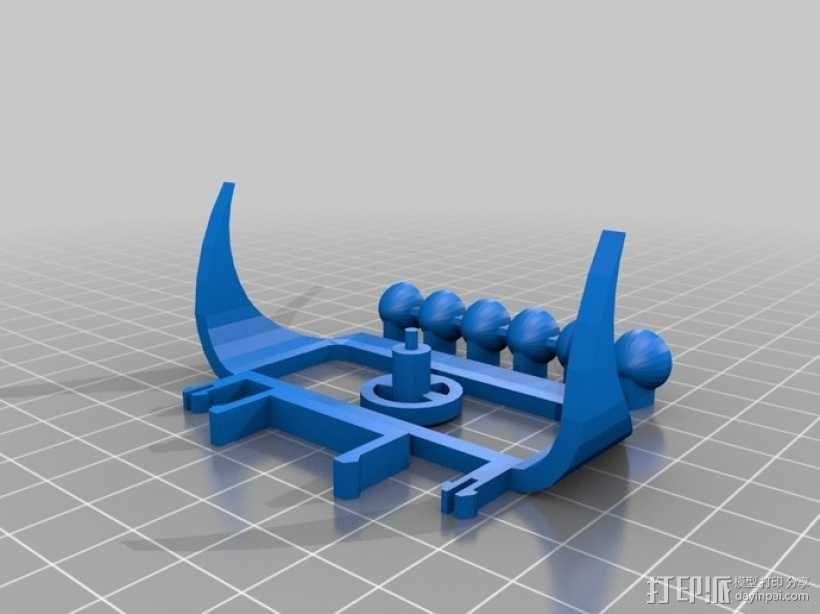 沙漠越野车 3D模型  图11