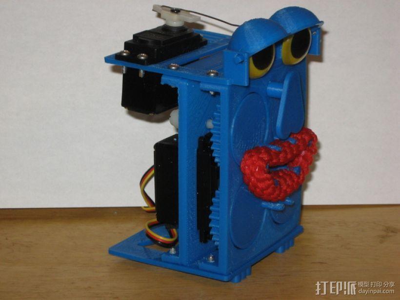 会说话的机器人 3D模型  图1