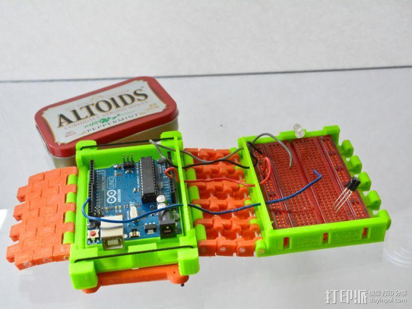 开源Arduino控制面板3.0  3D模型  图1