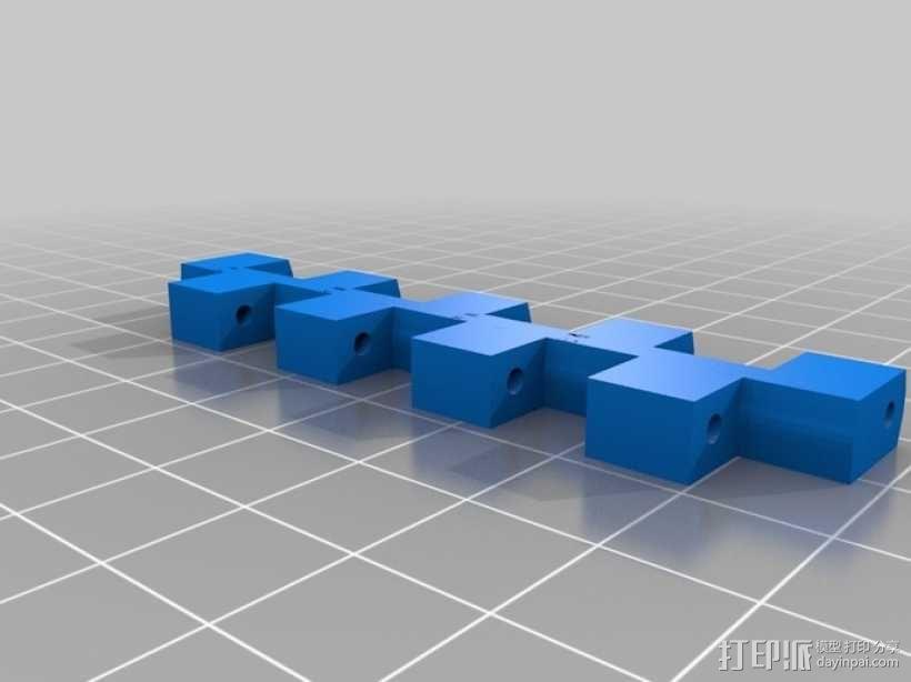 开源Arduino控制面板3.0  3D模型  图6