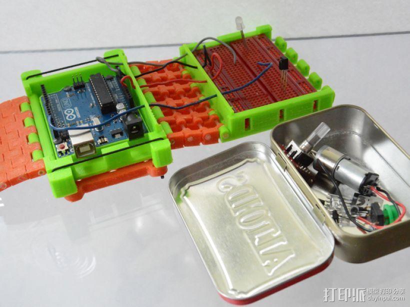 开源Arduino控制面板3.0  3D模型  图7