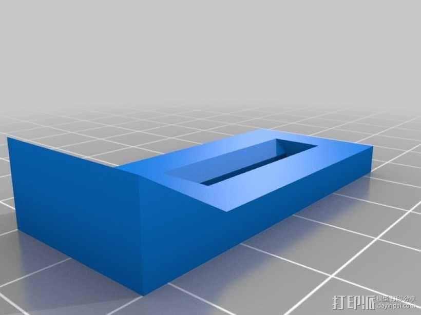 剪刀式升降机 3D模型  图2