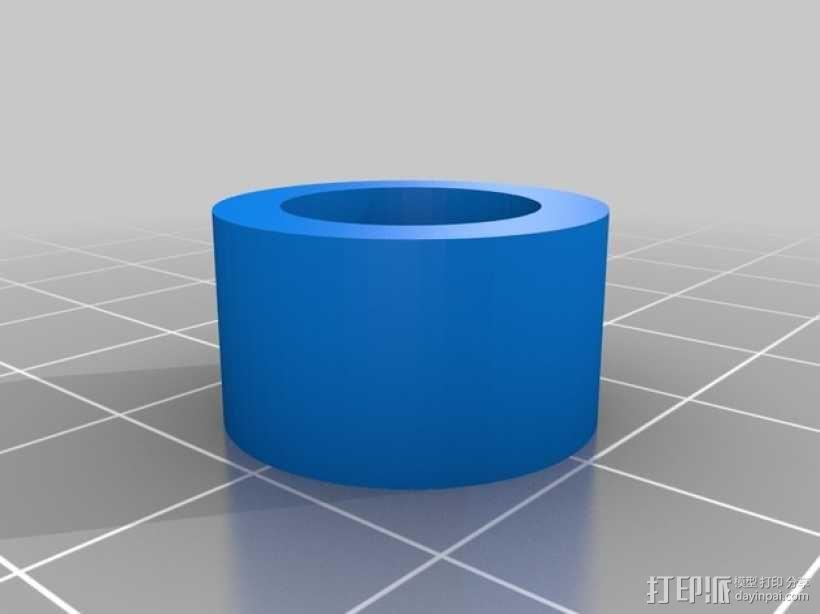 剪刀式升降机 3D模型  图3