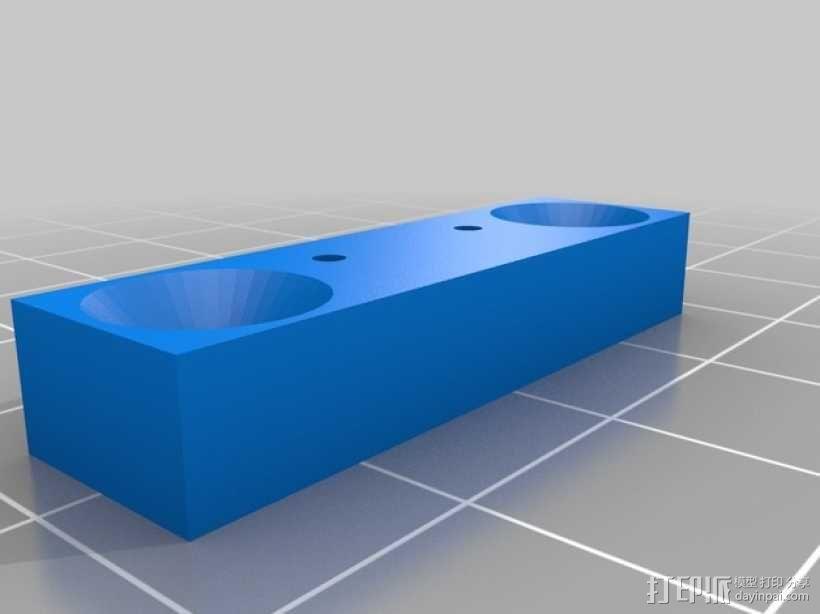 剪刀式升降机 3D模型  图4