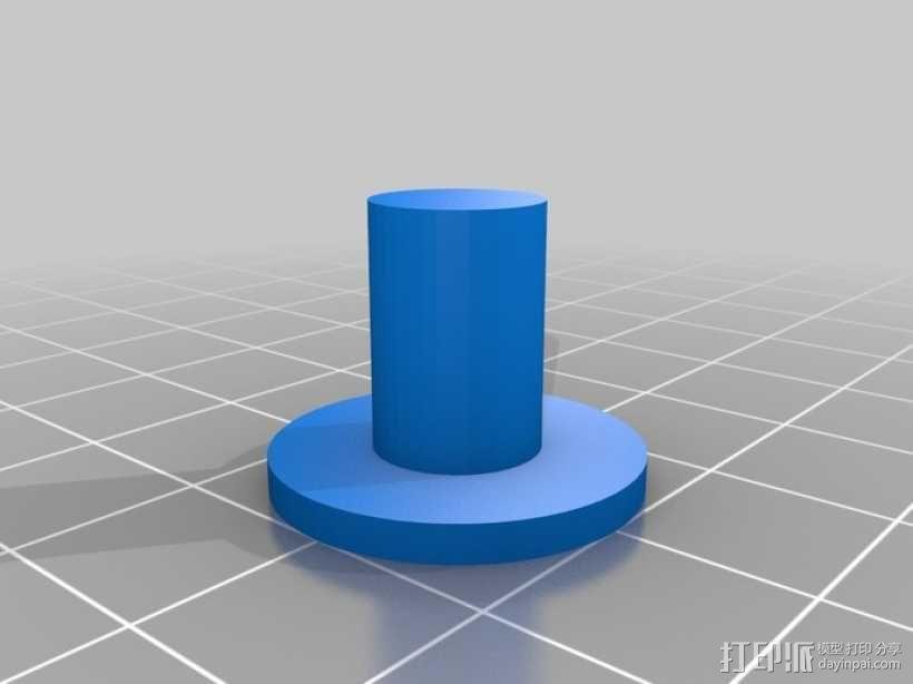剪刀式升降机 3D模型  图5