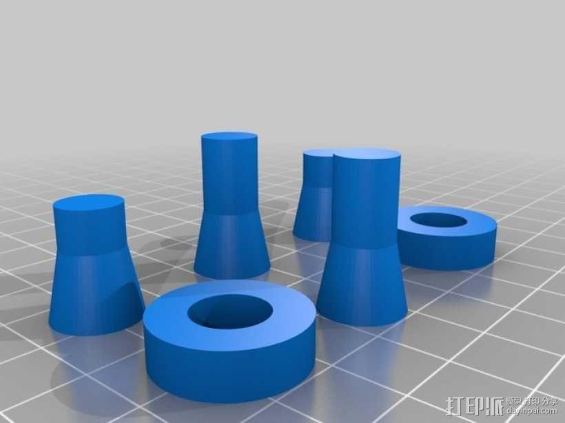 剪刀式升降机 3D模型  图11