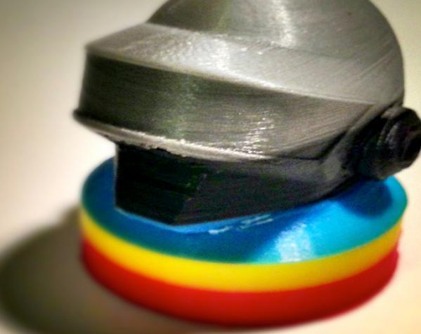 朋克头盔适配器 3D模型  图1
