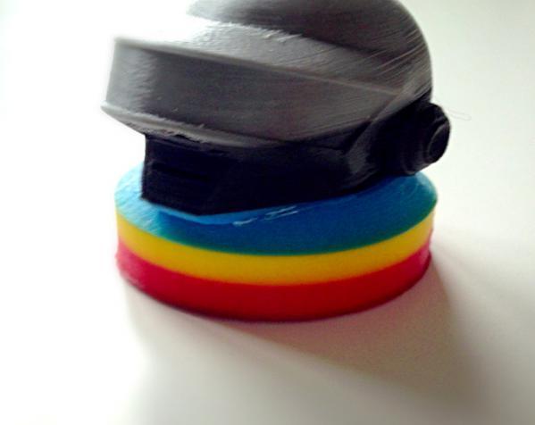 朋克头盔适配器 3D模型  图5