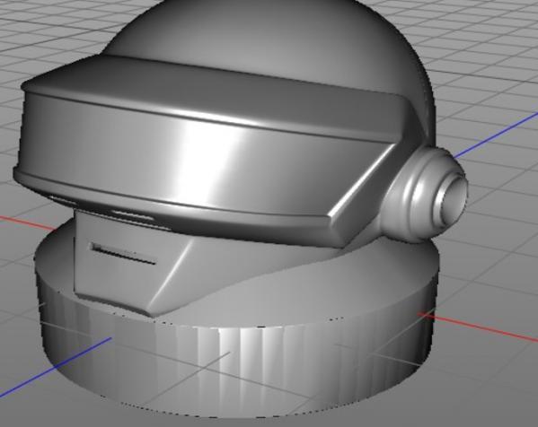 朋克头盔适配器 3D模型  图7
