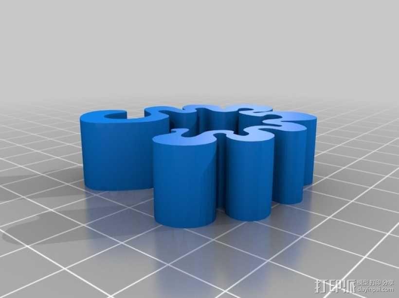 大眼夹 3D模型  图2