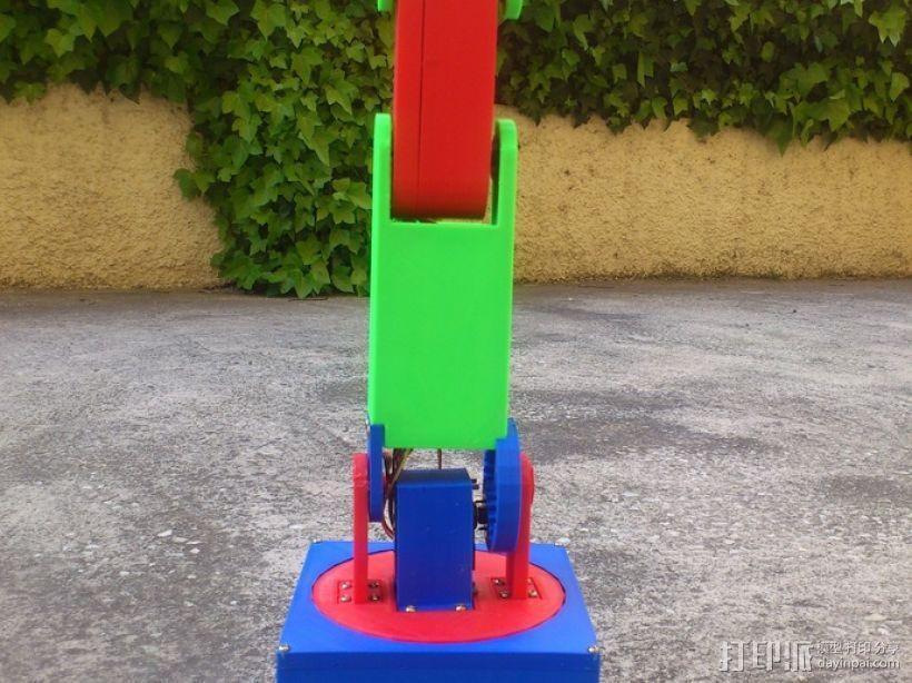 机械臂 3D模型  图3