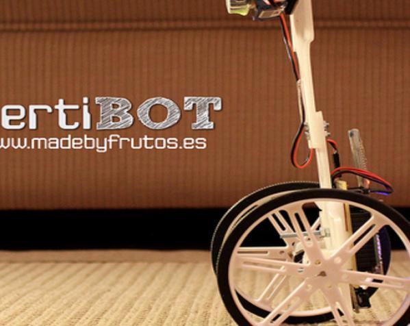 VertiBOT机器车 3D模型  图2